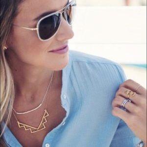 Gorjana Toner Bar Small Necklace